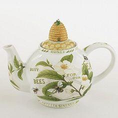 tea and honey bees