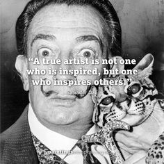 A little #WednesdayWisdom from a master of Surrealism       #quotes #quote #quoteoftheday #inspire #artistic #surreal #artists #motivate #surrealism #paintings #painting #arte #arts #artgallery #artlife #surrealart #creative #instaart #artworks #wellbeing #artshealthwellbeing #dali #inspire #inspirationalquotes
