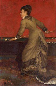 File:Elégante au billard, Alfred Stevens.jpg