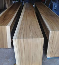 minimalist modern industrial office desk dining. Modern Minimalist Hardwood Bench And Coffee Table // Wood Industrial Office Desk Dining A