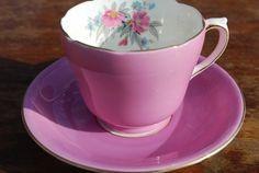 MELBA  Vintage  Bone China Tea Cup and Saucer / by HoneyandBumble, $14.00