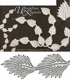 70 super Ideas for crochet lace irish link Crochet Leaf Patterns, Crochet Lace Edging, Crochet Leaves, Crochet Motifs, Crochet Borders, Freeform Crochet, Crochet Diagram, Crochet Chart, Crochet Squares