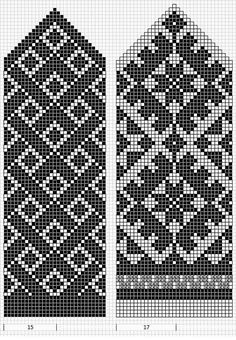 Knitted Mittens Pattern, Knit Mittens, Knitting Socks, Knitting Charts, Knitting Patterns, Filet Crochet, Knit Crochet, Capes For Kids, Bead Crochet Rope