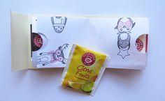 Dárková krabička na čaj - Aladine.cz Projects To Try, Container, Fruit, Paper, Accessories, Jewelry Accessories