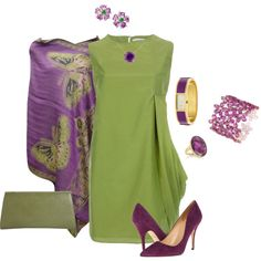 Grape Butterfly Outfit by hread on Polyvore