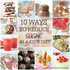 10 Easy Ways To Reduce Sugar In Your Kids' Diet
