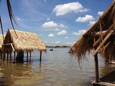 beach(river) resort