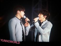 Photos and videos by dㅎ‸ㅎb人( ` _.´ ) (@EverKiss1503) | Twitteryou grab my hand, i grab urs... we hold on tight together…  we are TVXQ!