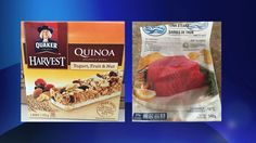 #Two food recalls: Quaker Harvest quinoa granola bars, Sea Delight tuna steaks - 680 News: 680 News Two food recalls: Quaker Harvest quinoa…