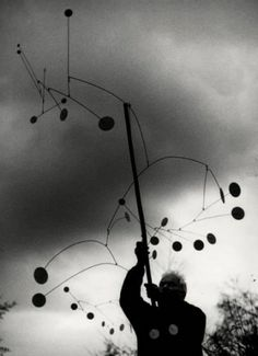 alexander calder.  My best gallery experience ever in Bilbao.  Ghery and Calder - a match made in art heaven