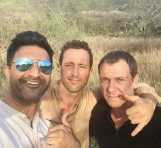 ♥♥♥ BTS H50 ep 7.02 - Alex O'Loughlin and Chris Vance - Vishesh Chachra on Twitter