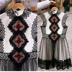 Polish Embroidery, Casual Dresses, Girls Dresses, Look Chic, Designer Dresses, Ready To Wear, Dressing, Couture, Womens Fashion