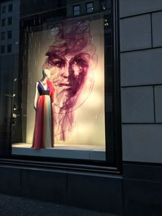 @New York @window @tulle @ss2017 @5th avenue