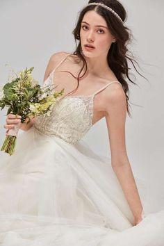 Vintage-Brautmode ist noch immer der Renner: Boho-Look von Watters.
