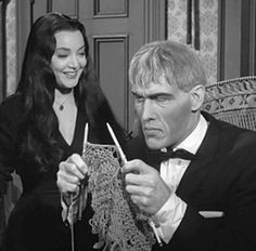 Lurch knitting! Too funny!!!