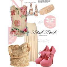Pink Posh, created by charlotte-bilton-carver on Polyvore