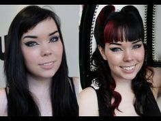 Black to Pink Hair Color Makeover with Beauty Blogger Mortem3r