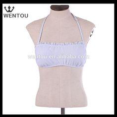 Wholesale personalized seersucker bandeau top