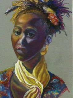 Girl With Yellow Scarf    Added by Yvonne Studevan