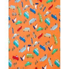 SheetWorld Fitted Oval Crib Sheet (Stokke Sleepi) - Transportation