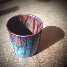 Multiful Glazing  Ceramic  Theme: Iron-Bronze Era  Atelier Shop PAUL AVRIL  Craft  Cup