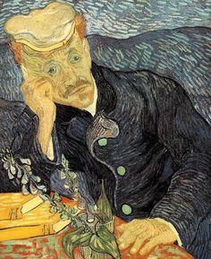 Vincent Van Gogh, Dutch, Post Impressionism, 1853-1890, Portrait of Dr. Paul Gachet, 1890, Auvers-sur-Oise,