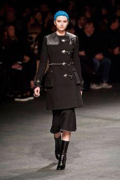 70 Fall and Winter Coats, Givenchy toggle coat