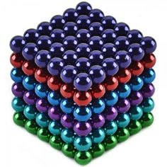 216pcs CHEERLINK CN-216 5mm Neodymium Magnet Balls DIY Puzzle Set Multicolored.  Check this out at the Tmart link on MomTheShopper.