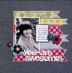 1 photos single page layout by Stephanie Hart