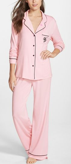 Valentine's Day pretties // pink pjs