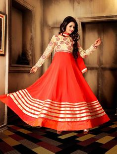 Get Anarkali Suits from Mirraw.com