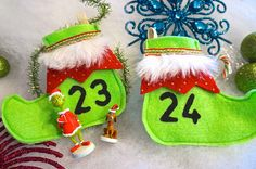 Items similar to Christmas Countdown Grinch Theme Boots Advent Calendar on Etsy Grinch, Christmas Countdown, Christmas Ornaments, Advent Calendar, Blackbird, Holiday Decor, Boots, Etsy, Xmas Ornaments