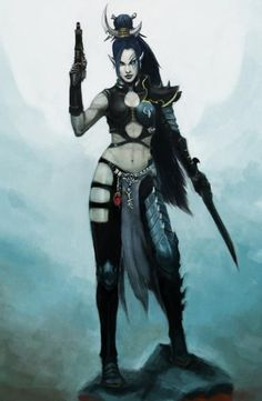 Dark Eldar Wyches. Gladiatorial fighters and combatants without equal, the Wyches are true artists in the realm of physical combat.