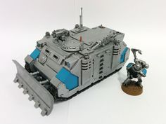 Scratch built vehicle recovery servo arms