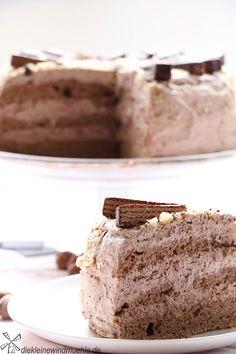 Kakao-Haselnuss-Torte - die kleine Windmuehle