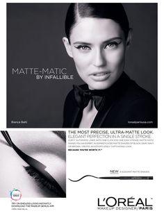 L'Oréal Paris Cosmetic Advertising with Bianca Balti
