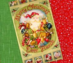 Jingle All The Way Easy Fabric Panel Quilt Kit by acquiltfabric, $17.00