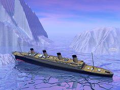 Titanic Boat Sinking - Render by Elenarts - Elena Duvernay Digital Art Titanic Boat, Boat Art, Fine Art America, Digital Art, Ocean, Building, Water, Boats, Travel