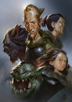 Faces, Even Amundsen on ArtStation at http://www.artstation.com/artwork/faces