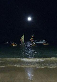 Noite de lua cheia em Porto de Galinhas - PE ( fotografia do meu célular) ❤💋