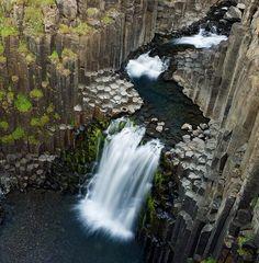 Litlanesfoss Waterfall - Iceland