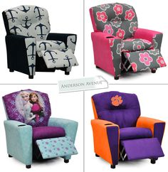 Kids Recliners in over 75 patterns!  sc 1 st  Pinterest : childrens recliners - islam-shia.org