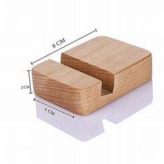 Sostenedor de madera de la ayuda del teléfono teléfono hechos a mano soporte para el iPhone SE 5 6 zuk z2 pro xiaomi redmi nota 3 soporte movil telefon tutucu