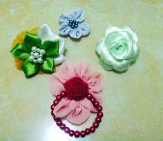Handmade flowers.