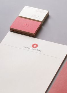 Simple Sophisticated Letterhead and Business Cards