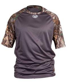 Louisville Slugger Youth Slugger Loose-Fit Raglan Short Sleeve Shirt, XT Camo, X-Large