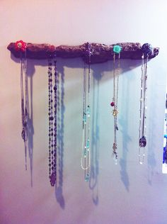 Jewelry hanger that I made:)