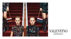 Couture Cornrow Campaigns - The Valentino Garavani Advertisements Reveal Tightly Bound Hairdos (GALLERY)
