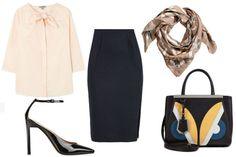 The Pencil Skirt: 3 Ways to Get Down to Business  - ELLE.com