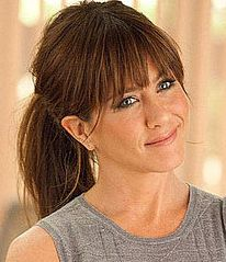 Jennifer Aniston's Horrible Bosses' bangs hairdo. this is how im getting my hair done on the 14th!